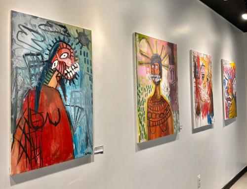 Abertura da 1ª exposição na Galeria Origens!
